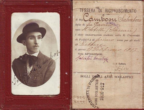 Salvatore-Cambosu-tesserino-università-di-padova