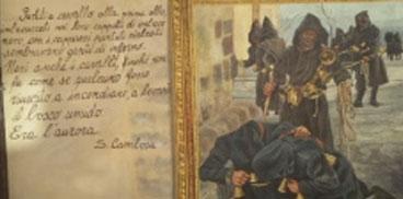 Annullo filatelico per il cinquantennale della morte di Salvatore Cambosu.